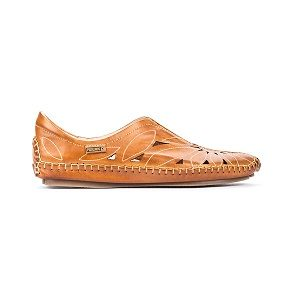 women's brandy moccasin comfort shoe