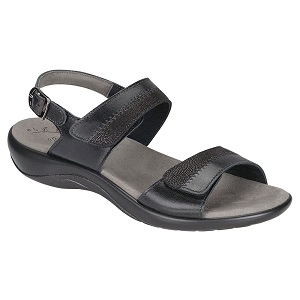 Women's midnight comfort sandal