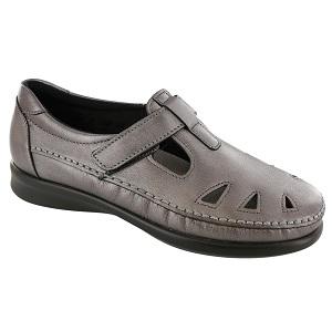 leather adjustable shoe