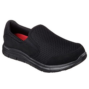 Women's EH Safe Slip Resist black shoe