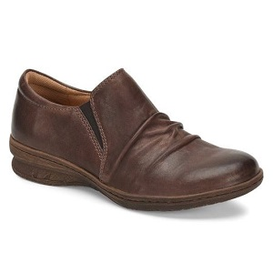 women's comfort slip on in cocoa brown