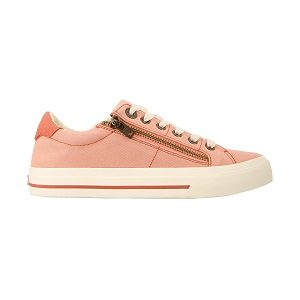 women's cantaloupe side zip sneaker