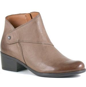 women's asymetrical fashion bootie