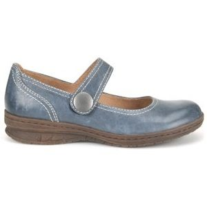 women's navy mary jane