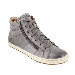 women's zippered high top comfort sneaker