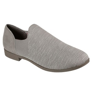 women's taupe slip on