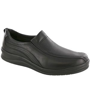 Men's black comfort loafer