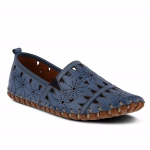 women's laster cut out loafer