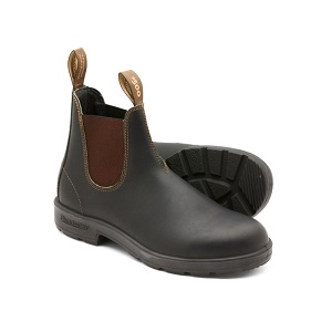 women's brown Chelsea boot