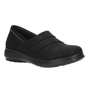 women's black casual comfort shoe