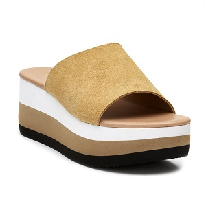 women's wedge slide