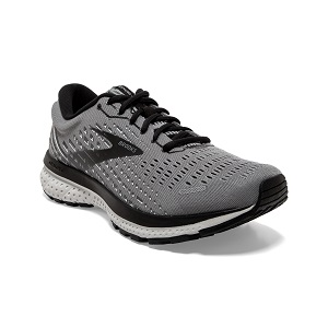 men's grey road running shoe with neutral support