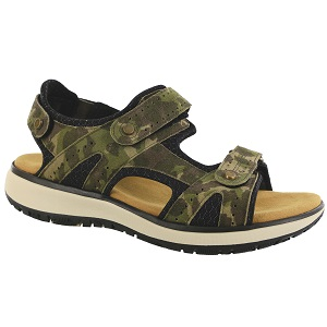 men's camo outdoor sandal