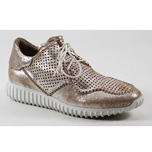 women's metallic fashion sneaker