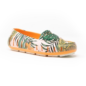 women's colorful driving moc